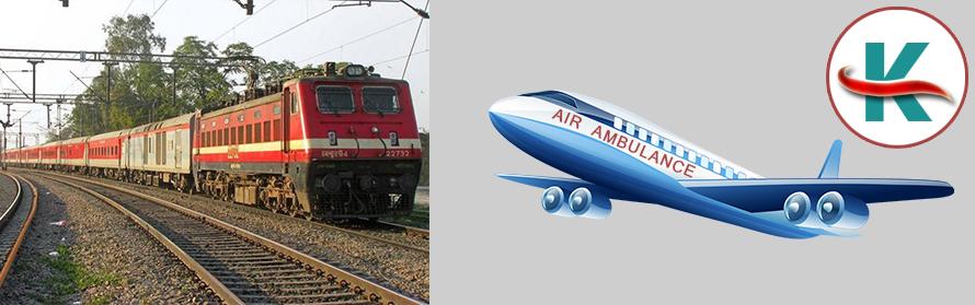 King Train Ambulance From Ahmadabad Air Ambulance
