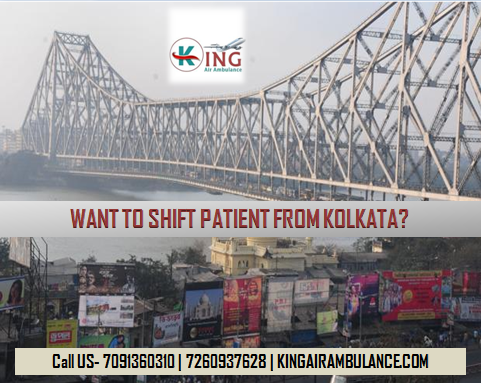 King Air Ambulance Services in Kolkata in Medical Emergency